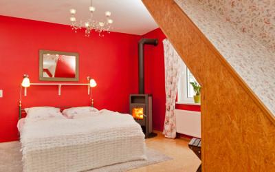 Schlafzimmer Schilfblick